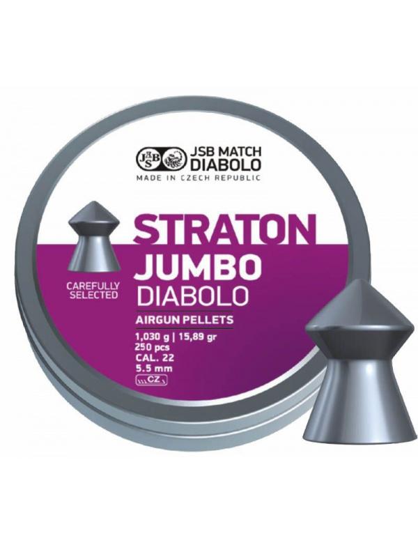 Diabolo JSB Match - Straton Jumbo, r. 5,5mmn, 250 ks