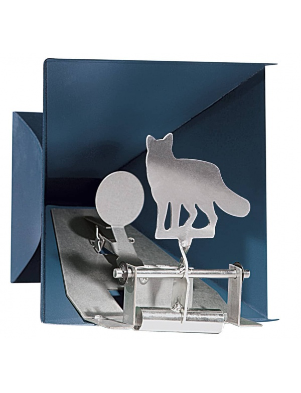 Terč Diana - 1x liška s lapačem (Pellet trap Fox) max.7,5J