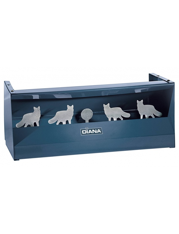 Terč Diana - 4x liška s lapačem (Pellet trap Multi-Fox) max.12J