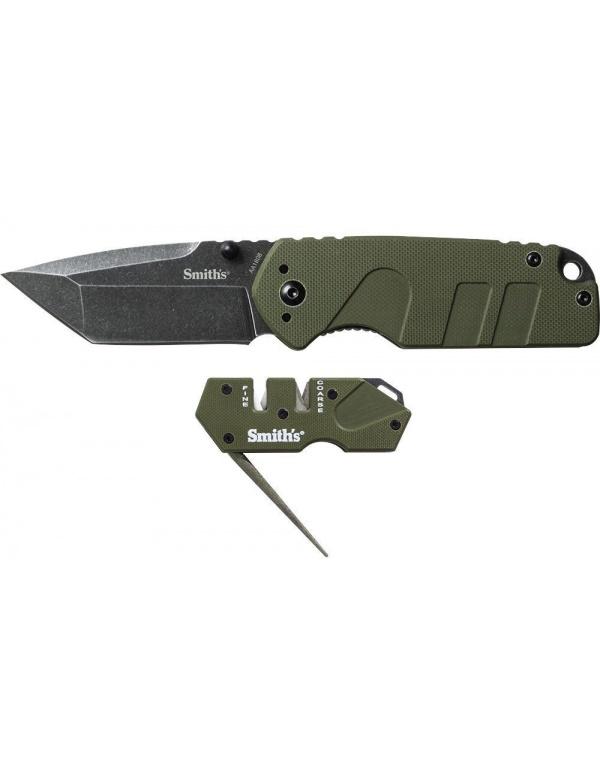 Sada Smiths (nůž + brousek) *50999* Campaign w/ PP1-MINI TAC Combo OD Green