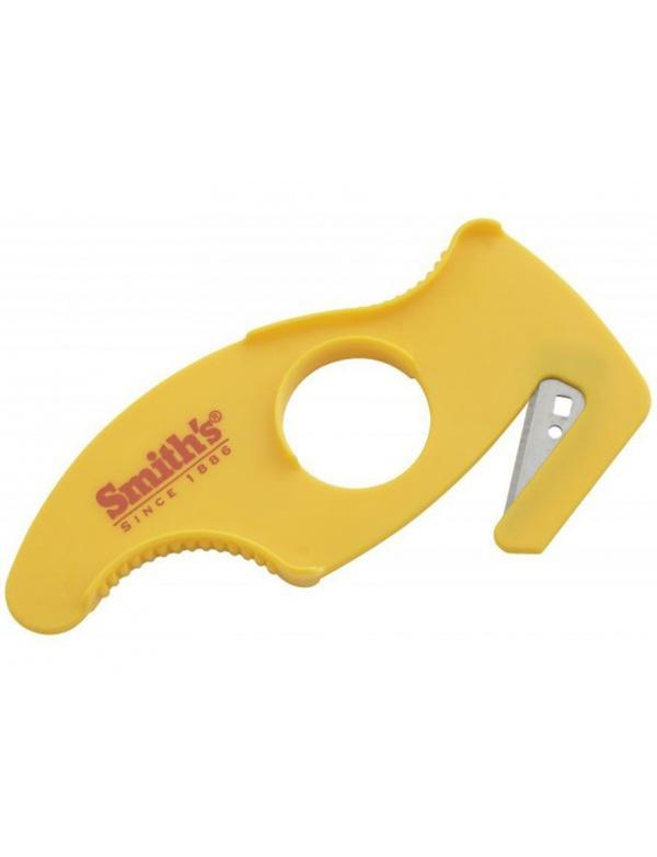 Nůž Smiths *50779* Párák, žlutý plast (cana za 1 blistr/ 4 ks)