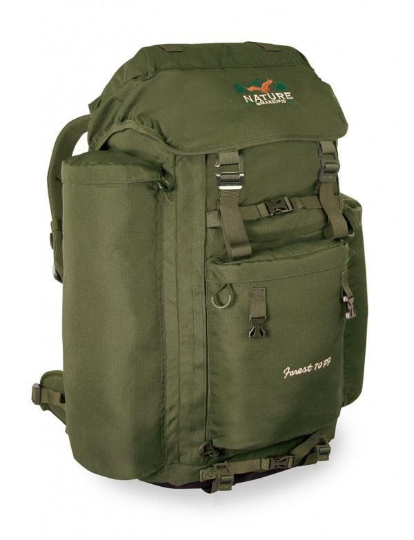 Batoh Marsupio - FOREST 70 PF - moderní lovecký batoh s možností přepravy zbraně (70+20l)