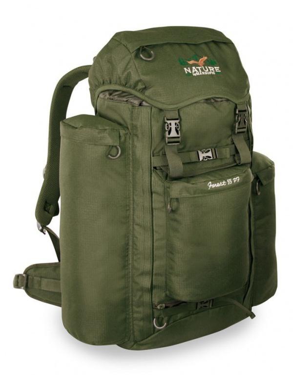 Batoh Marsupio - FOREST 55 PF - moderní lovecký batoh s možností přepravy zbraně (55+10l)