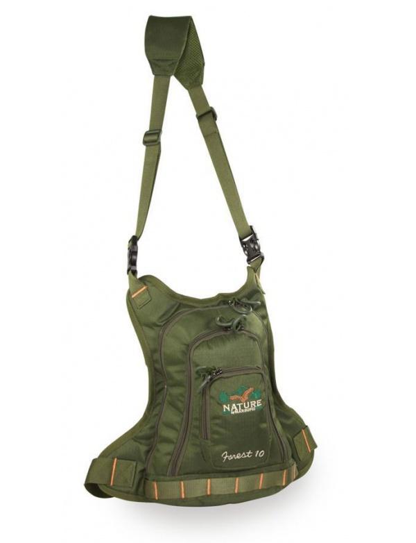 Batoh Marsupio - FOREST 10 - malý ergonomický batůžek/taška přes rameno a pas (10l)