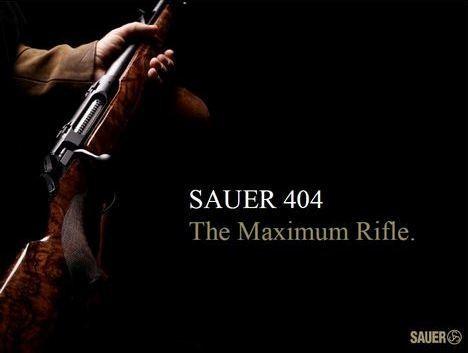 kulovnice opakovací Sauer S404 image foto