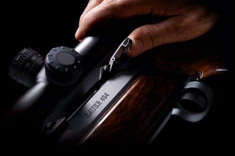 kulovnice opakovací Sauer S404 montáž optiky SUM detail image
