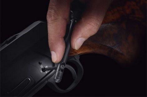 kulovnice opakovací Sauer S404 nastavení odporu spouště detail image