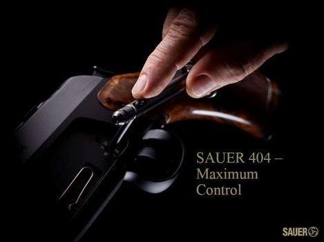 kulovnice opakovací Sauer S404 nastavení odporu spouště image