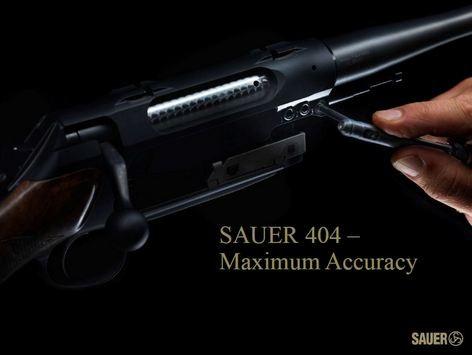kulovnice opakovací Sauer S404 výměna hlavně image foto