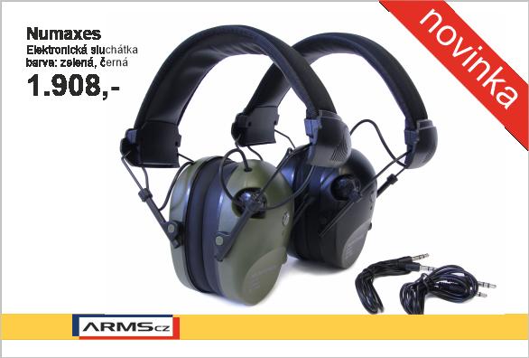 NUMAXES - elektronická sluchátka