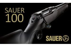 Nová opakovací kulovnice SAUER S100