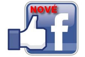 nově také na Facebooku