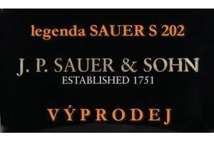Likvidace zásob kulovnic Sauer S202