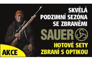 Mimořádná podzimní akce Sauer