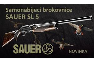 SAUER SL 5 - nová samonabíjecí brokovnice