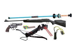 Volně prodejné zbraně a střelivo