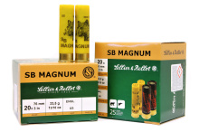 náboj SB 20x76-3,0mm Magnum 33,5g (plast)