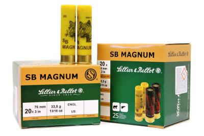 náboj SB 20x76 MAGNUM