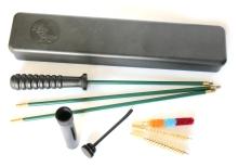 kulová čistící sada MegaLine r.7mm, plastová krabička, pogumovaná tyč (08/5007)