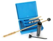 pistolové čištění MegaLine r..22, plastová modrá krabička(082/0022)