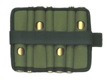 pás NIGGELOH - na 17 brokových nábojů, zelený (0211 00030)