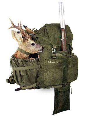 batoh Marsupio SUEDE 65 PF PRO (65l) - možnost přepravy zbraně a ulovené zvěře