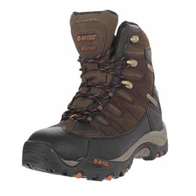 boty HI-TEC - Jackson Hole 400 - vysoká hnědá bota