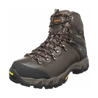 boty HI-TEC - Rainier eVent WPi - vyšší hnědá celokožená bota, celoroční