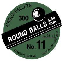 broky Příbram - č.11, r. 4,5mm, a´300ks