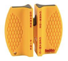 brousek SMITHS CCKB - ruční oboustranný, carbide/ceramic, žlutý plast