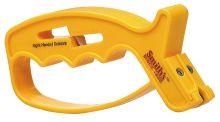 brousek SMITHS JIFF-S - ruční nůž + nůžky, žlutý plast