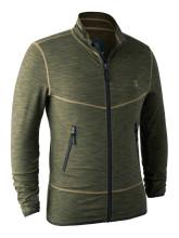 bunda DEERHUNTER - Norden Insulated Fleece Jacket, barva: 356 - Green Melange (5479)