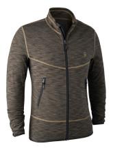 bunda DEERHUNTER - Norden Insulated Fleece Jacket, barva: 556 - Brown Melange (5479)