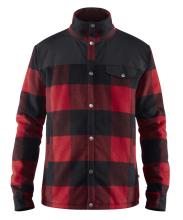 bunda FJÄLLRÄVEN - Canada Wool Padded Jacket M, barva 320 - Red, vel. S - XXXL