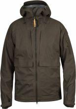bunda FJÄLLRÄVEN - Lappland Eco - Shell Jacket (90000), lovecká, barva 633 - Dark Olive