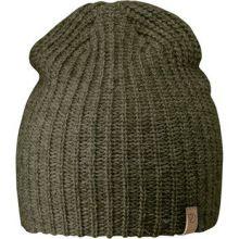 čepice FJÄLLRÄVEN - Övik Melange Beanie (77261), pletená, barva 625 - Laurel Green