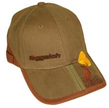 čepice NIGGELOH - s kšiltem, výšivkou, zelená (0911 00049)