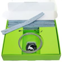 čistící sada JAKELE - * Field-Kit * cal. 7mm, modrá
