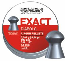 diabolo JSB MATCH - Exact, r. 4,5mm, 500ks (hmot. 0,547g)
