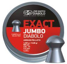 diabolo JSB MATCH - Exact Jumbo, r. 5,5mm/ 250ks (hmot. 1,030g)