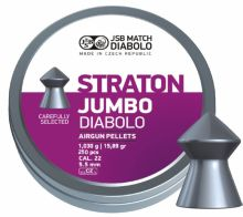 diabolo JSB MATCH - Jumbo Straton, r. 5,5mm, 250ks (hmot. 1030g)
