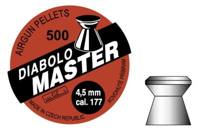 diabolo Příbram Mastr 4,5mm 500ks