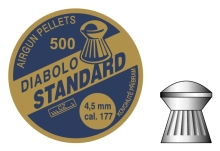 diabolo Příbram Standard 4,5mm 500ks