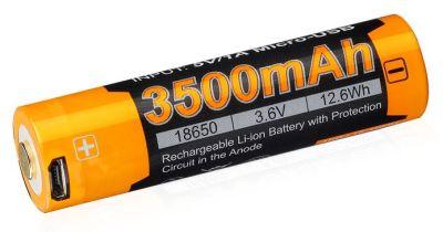 USB dobíjecí baterie Fenix 18650 mAh (li-ion)