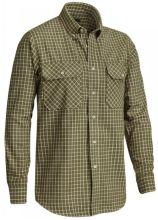 flanelová košile CHEVALIER - Naim Flannel Shirt LS (5821C)