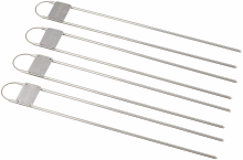 grilovací jehla SMITHS - *50457* Double Prong Skewer 4-Pack