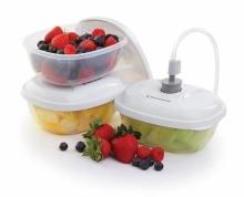 jídelní nádoby FoodSaver - sada 3ks (T020-00024)