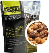 jídlo Adventrue Menu - jelení ragú s bramborovými knedlíčky, 400 g, samoohřev