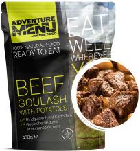 jídlo Adventure Menu - hovězí guláš s bramborem, 400 g, samoohřev