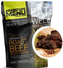 jídlo Adventure Menu - hovězí na tymiánu, 200 g, 100% maso, samoohřev